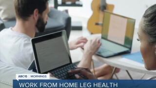 Working from home could lead to health implications due to lack of physical activity