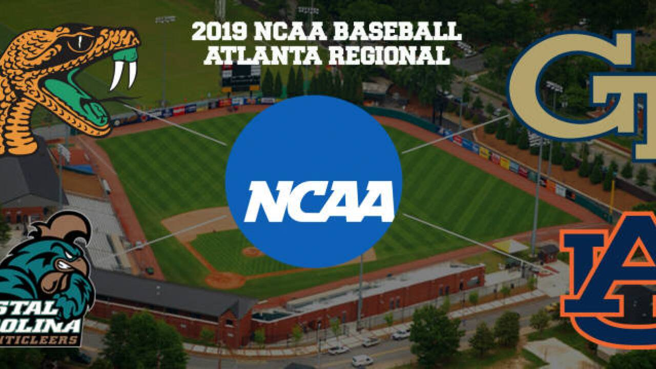 NCAA College World Series Regional Game Central
