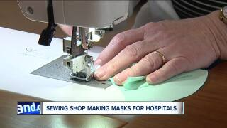 Sewing masks