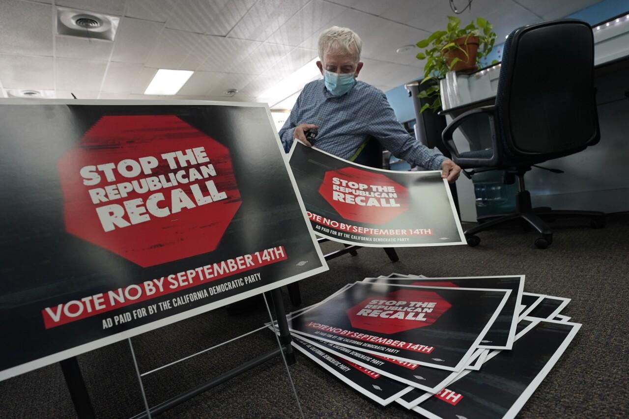 California Recall Reforms