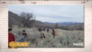 Take a hike!  Spring is a good time to experience Utah'sbeauty
