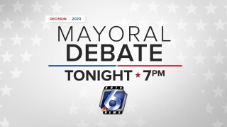 Mayoral debate tonight at 7 p.m.