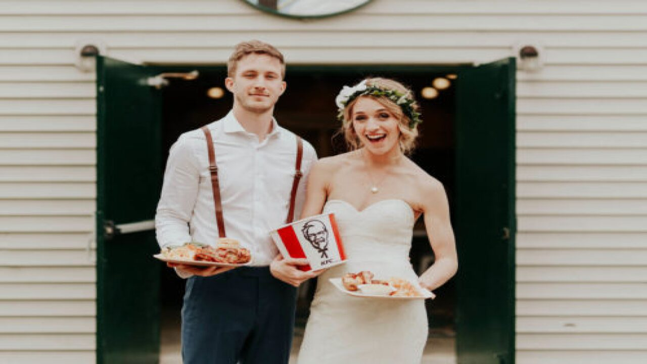 KFC Is Giving Away Chicken-themed Weddings To 6 Couples And Up To 200 Of Their Guests