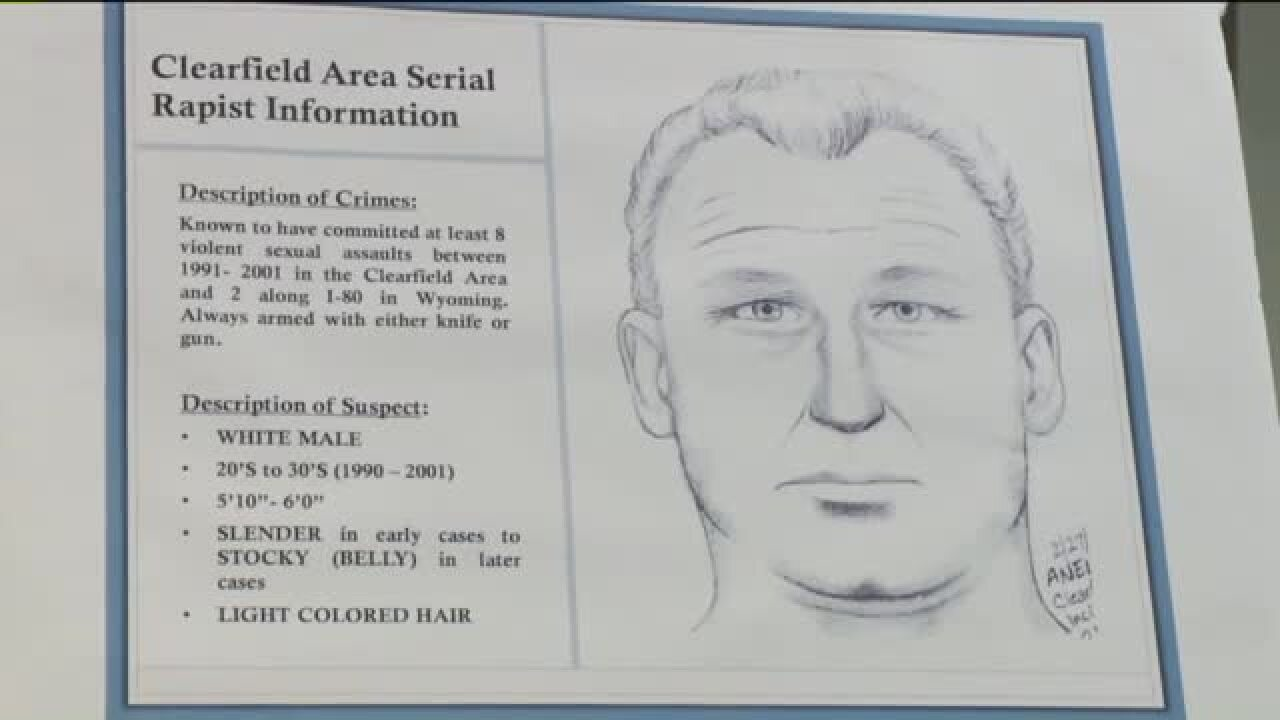 Clearfield police testing DNA swabs in effort to find serial rapist in coldcases