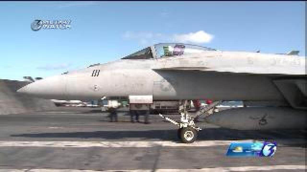Update: Pilot listed as stable after Navy F/A-18E Super Hornet crash in Virginia Beach