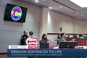 Convicted STEM School shooter sentenced to life without the possibility of parole plus 1,282 years