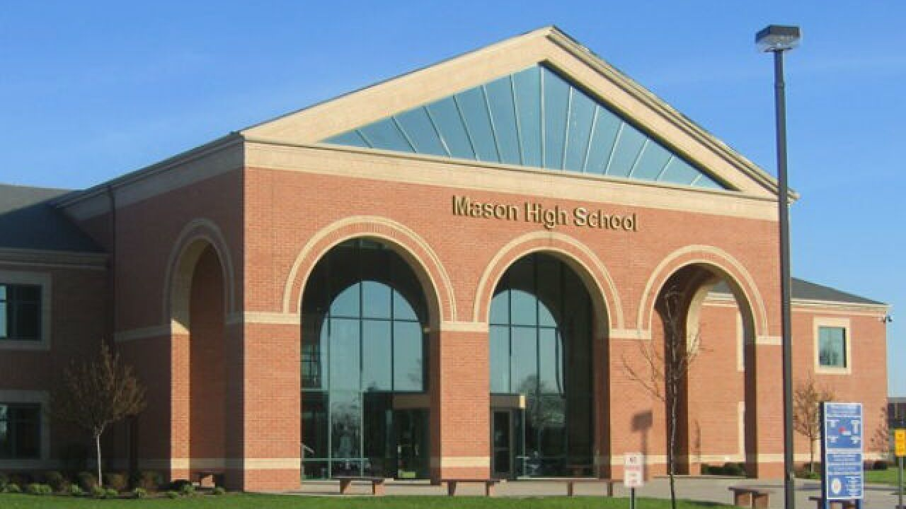 Fire forces Mason High students to evacuate