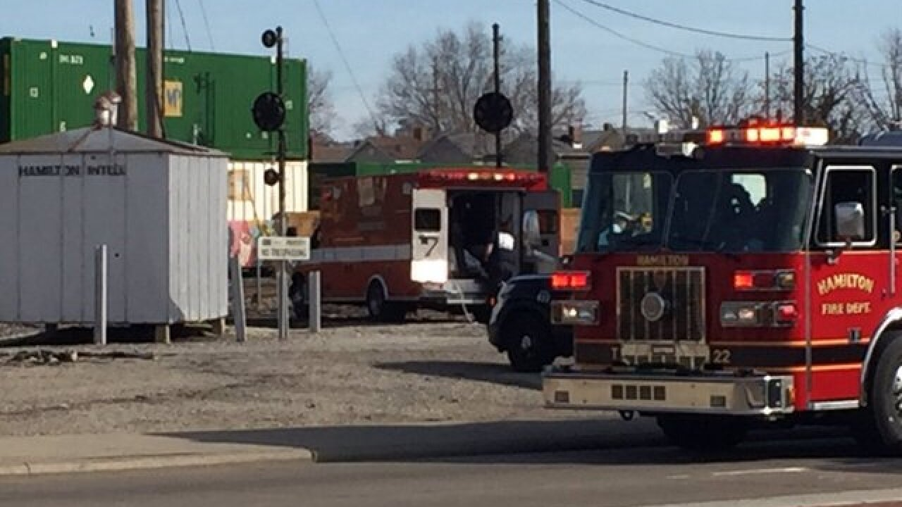 PD: Man struck by train in Hamilton