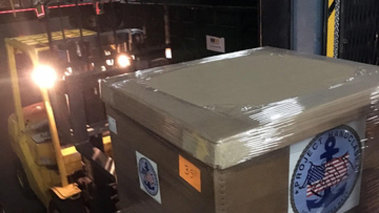 San Diego Navy personnel assist MX quake relief