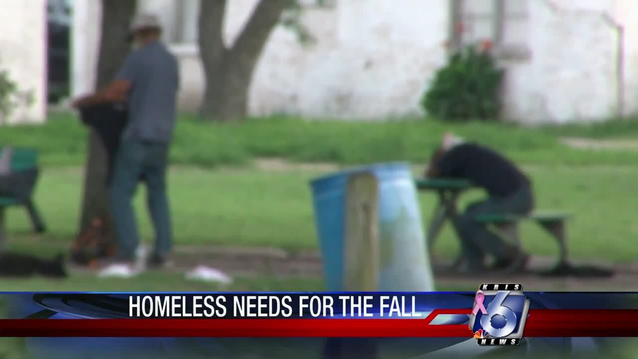 Homeless needs in the Coastal Bend