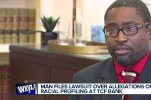 Man claims TCF bank discriminated against him by not cashing checks from settlement of racial discrimination case