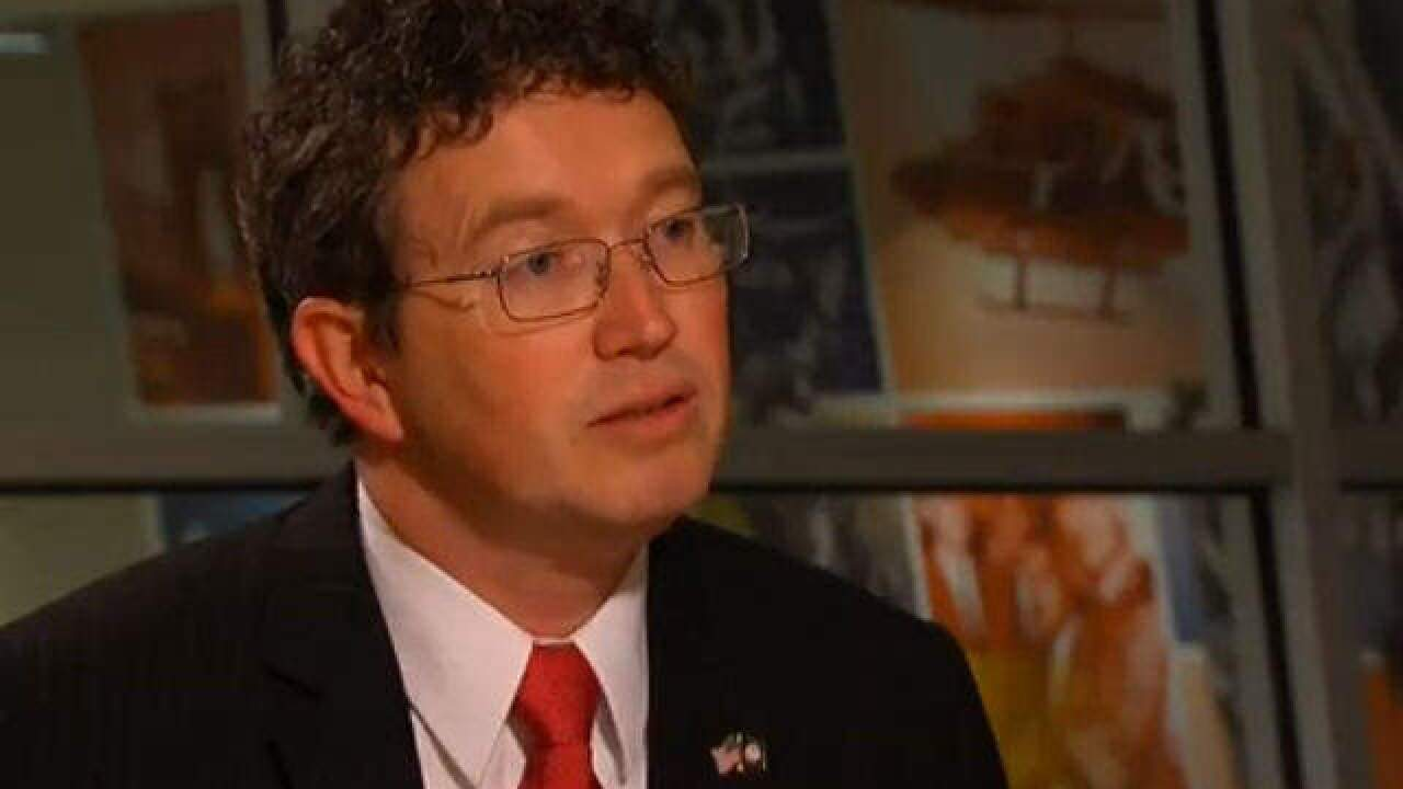 Massie a lonely no vote on mental health bill