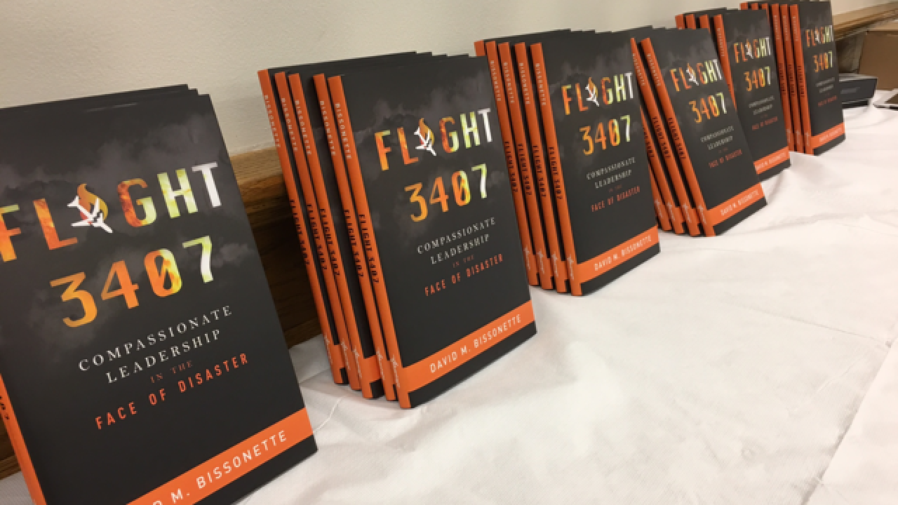 New Flight 3407 book focuses on lessons...