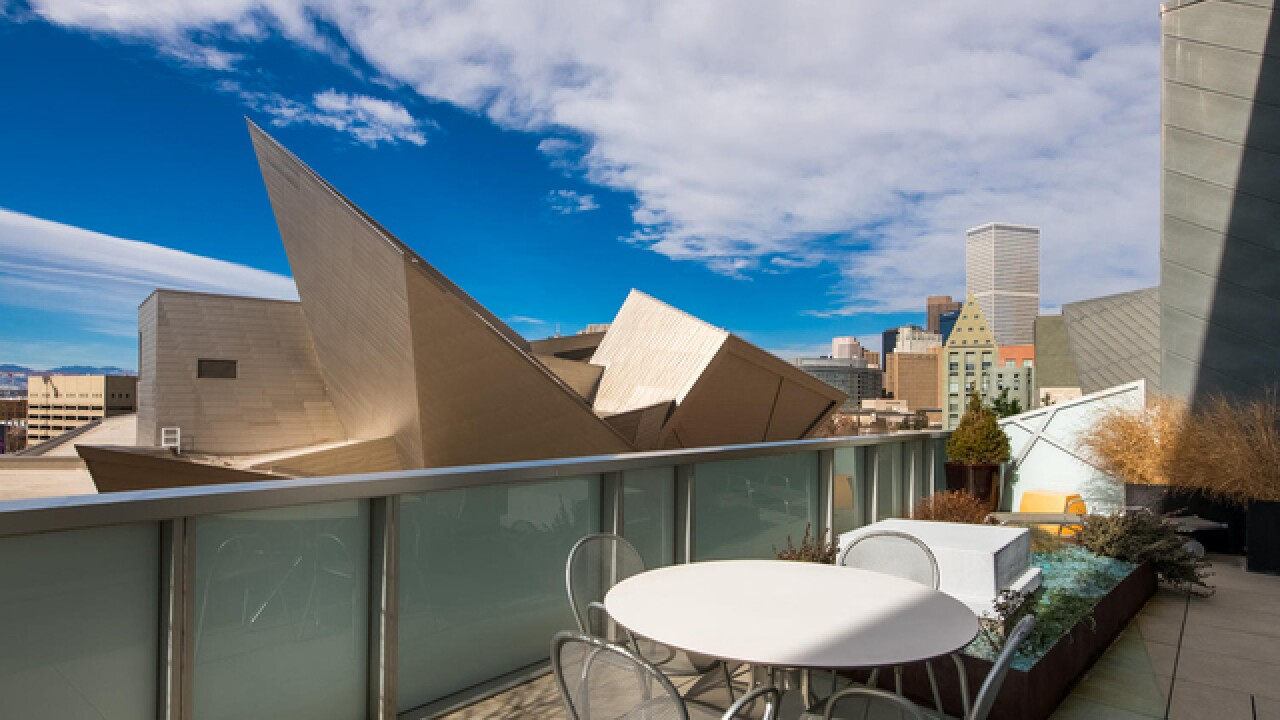 Colorado Dream Homes: Penthouse across from Denver Art Museum listed for $1.75M