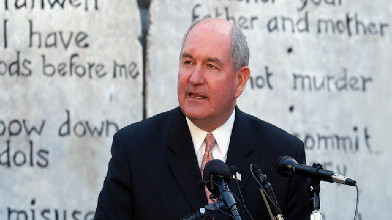 Source: Trump to tap Sonny Perdue for agriculture secretary