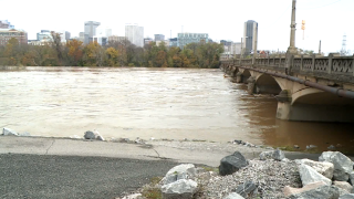 The James River in Richmond