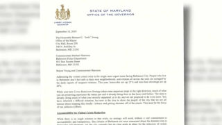 Gov Hogan letter crime