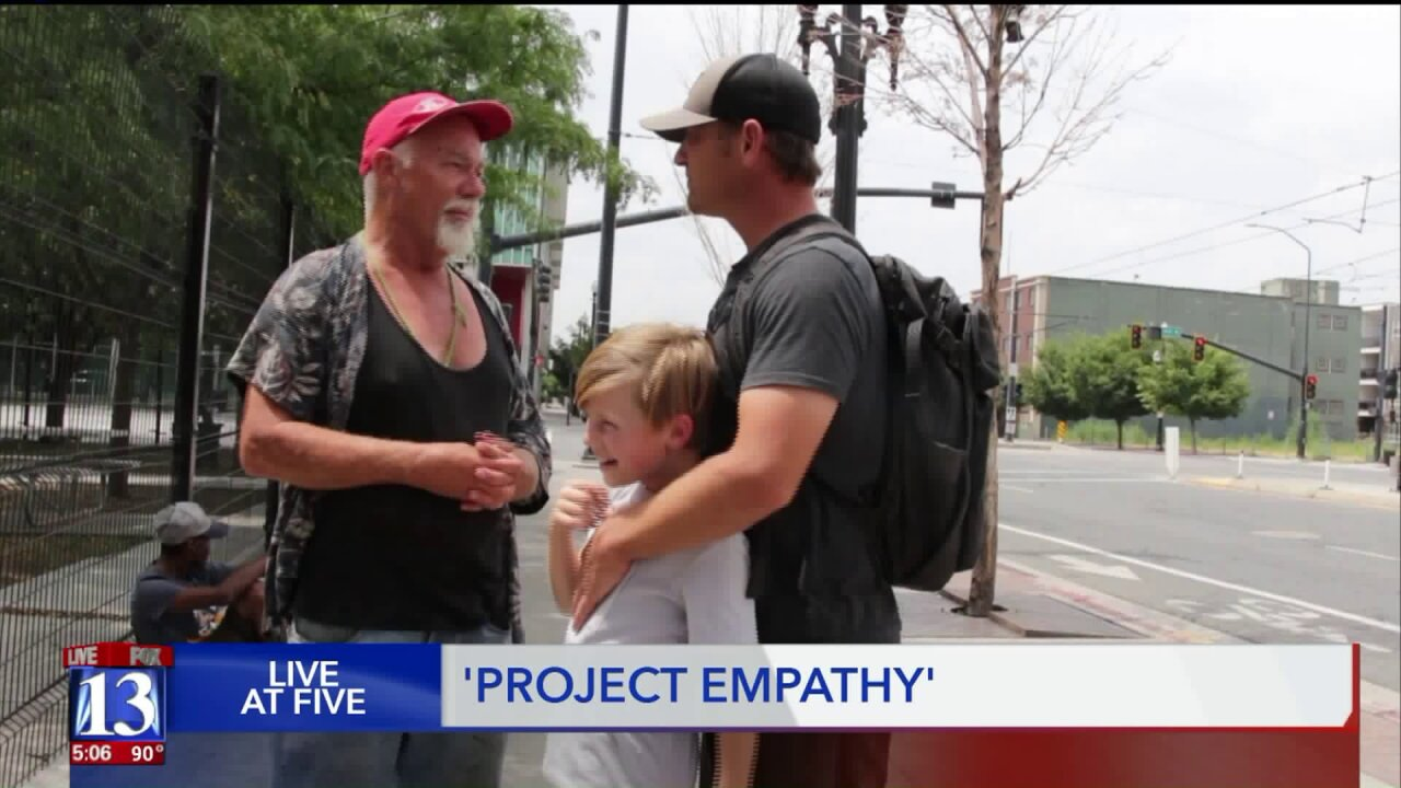 'Project Empathy' works to combat homelessness with humanity, personaltouch