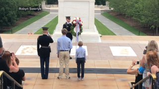 KNXV Scottsdale brothers Tomb of the Unknown Soldier