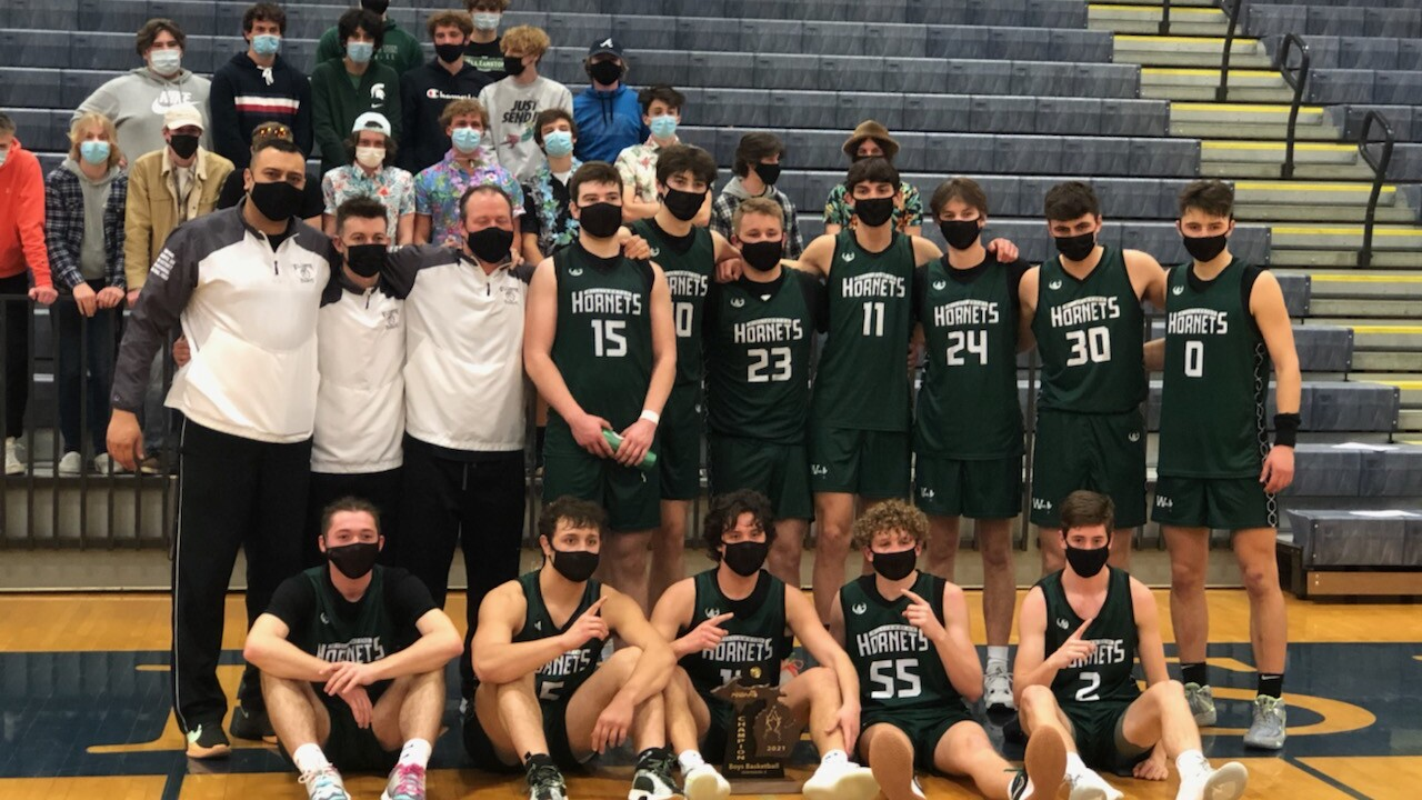 Williamston High School Boys Basketball 2021