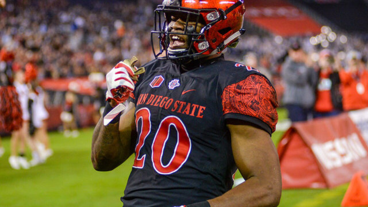 San Diego State running back Rashaad Penny named to AP All-America First Team