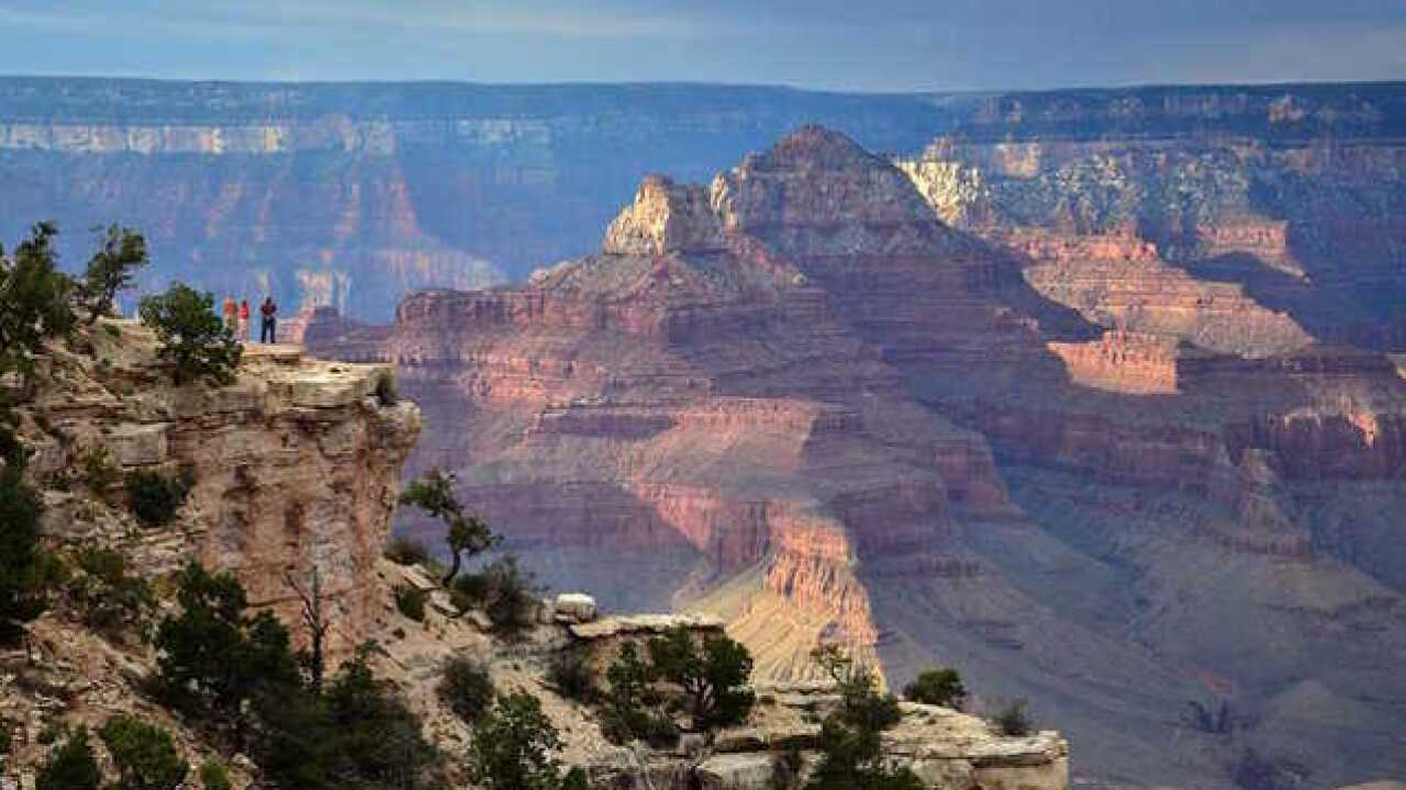 A near-fall at the Grand Canyon caught on video is a shocking reminder of safety procedures