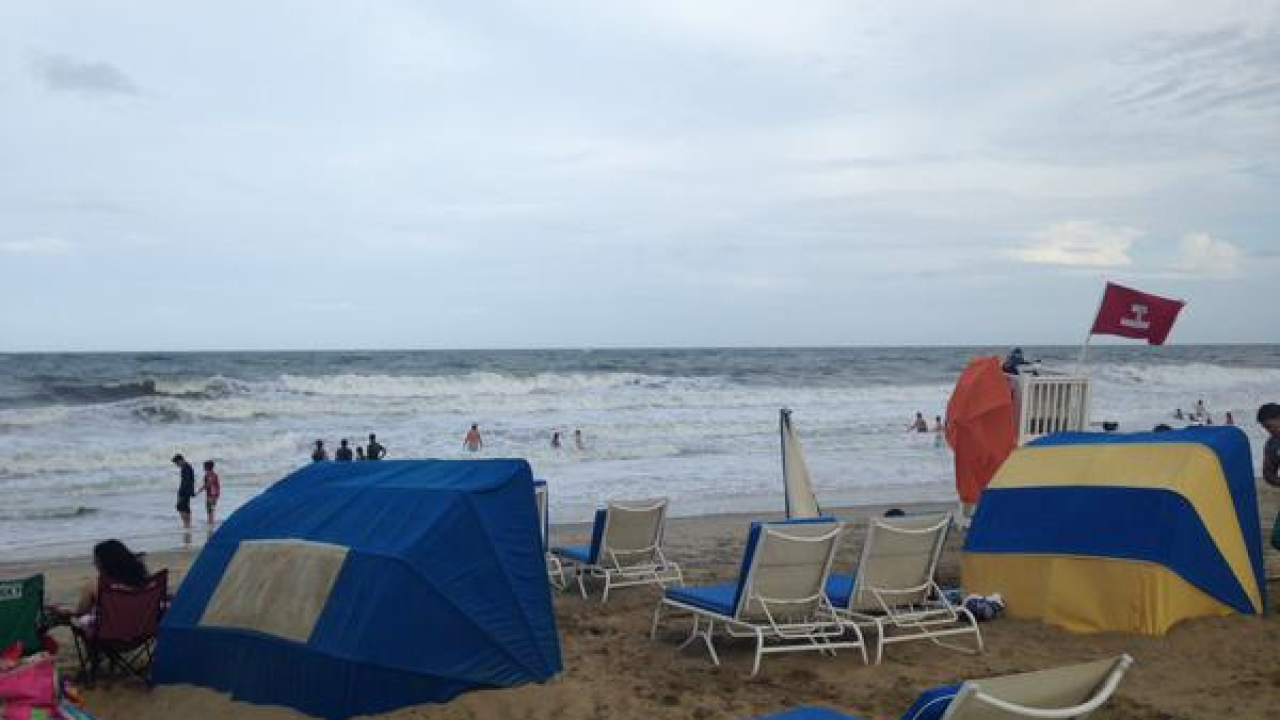 More than a dozen swimmers rescued at Virginia Beach Oceanfront on Saturday
