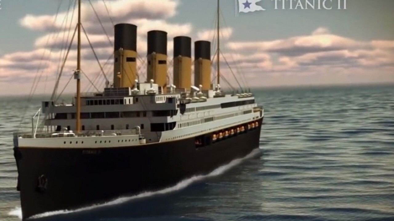Titanic II set to make 2-week voyage in 2022