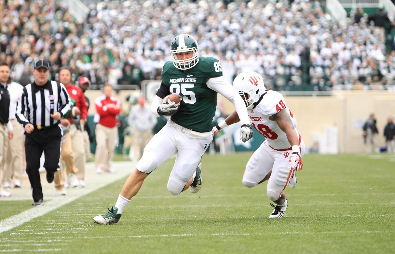 NCAA FOOTBALL 2011 - Nov 19 - Indiana at Michigan State