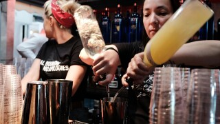 Bar And Beverage Industry Conference Held In Brooklyn