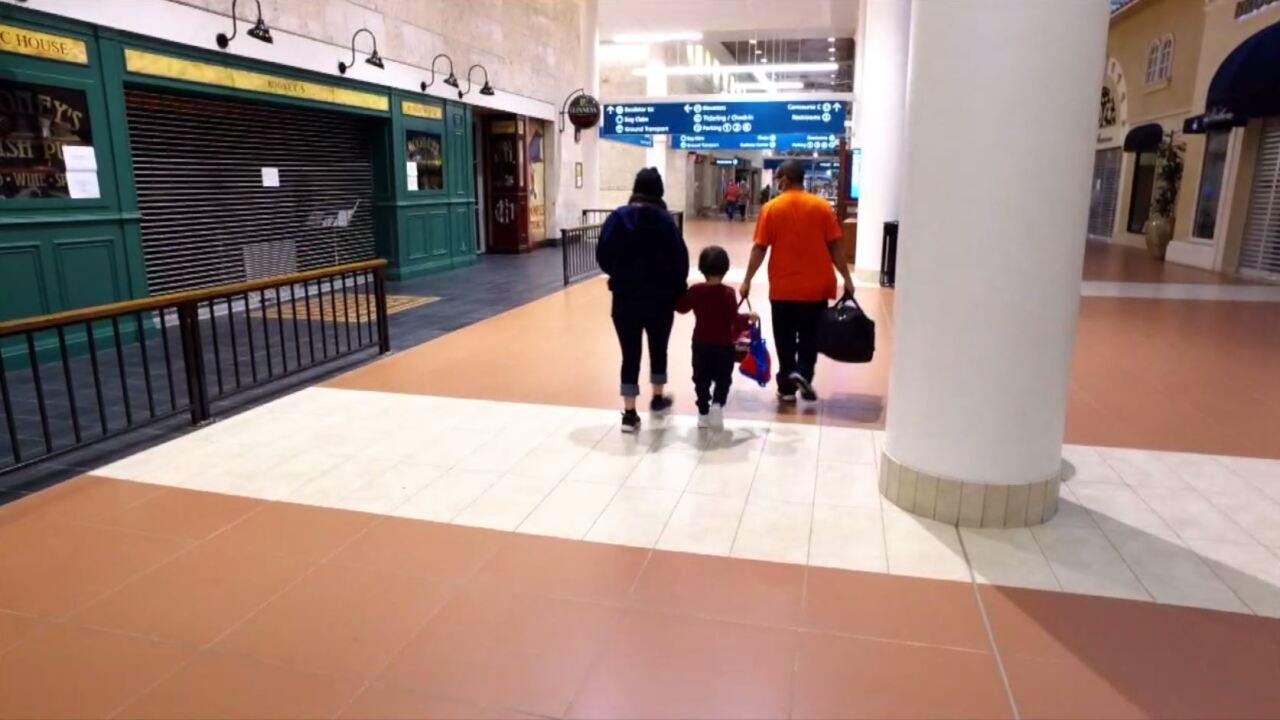 Suceli and Domingo leave PBIA