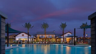 Clubhouse/Pool Ammenity at Marley Park by Meritage Homes, Surpri