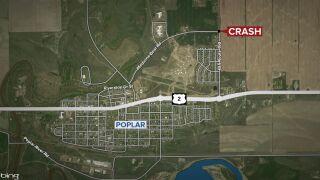 Woman dies in Roosevelt County crash