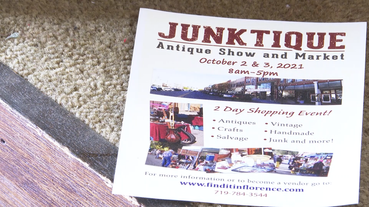 Junktique Antique Show and Market returns to Florence this weekend