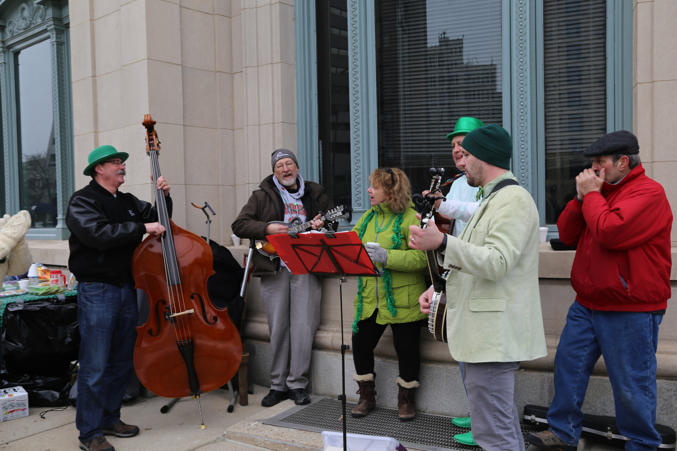 Milwaukee's St. Patrick's Day parade was windy, cold and full of Irish green!