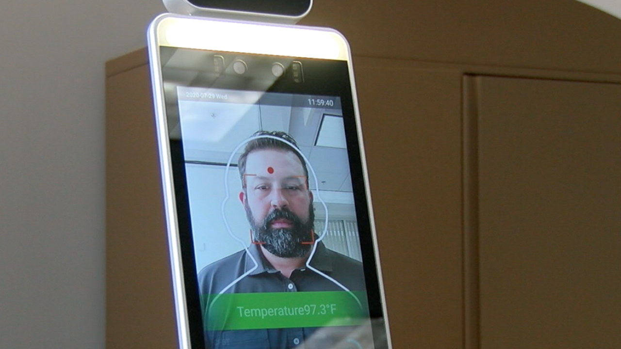 Thermal Facial Recognition Camera