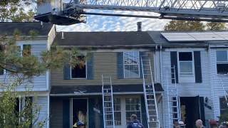 columbia townhouse fire