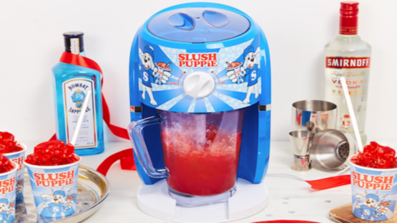 This Slushie Machine Is Exactly What You Need This Summer