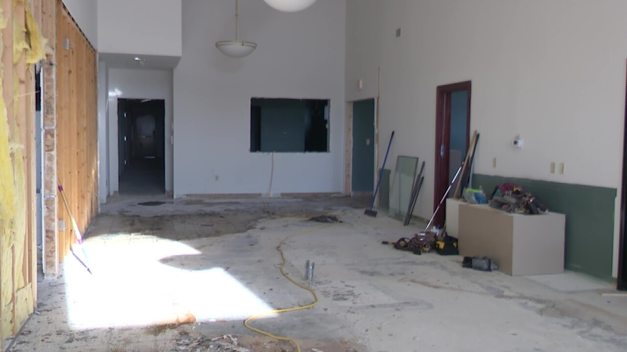 Progress is being made on the Little Shell Tribe's new health clinic in Great Falls.