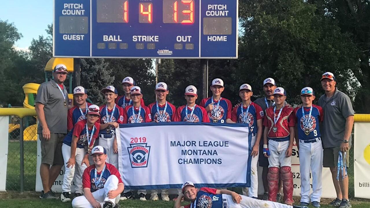 Heights National Little League Baseball team takes on Alaska