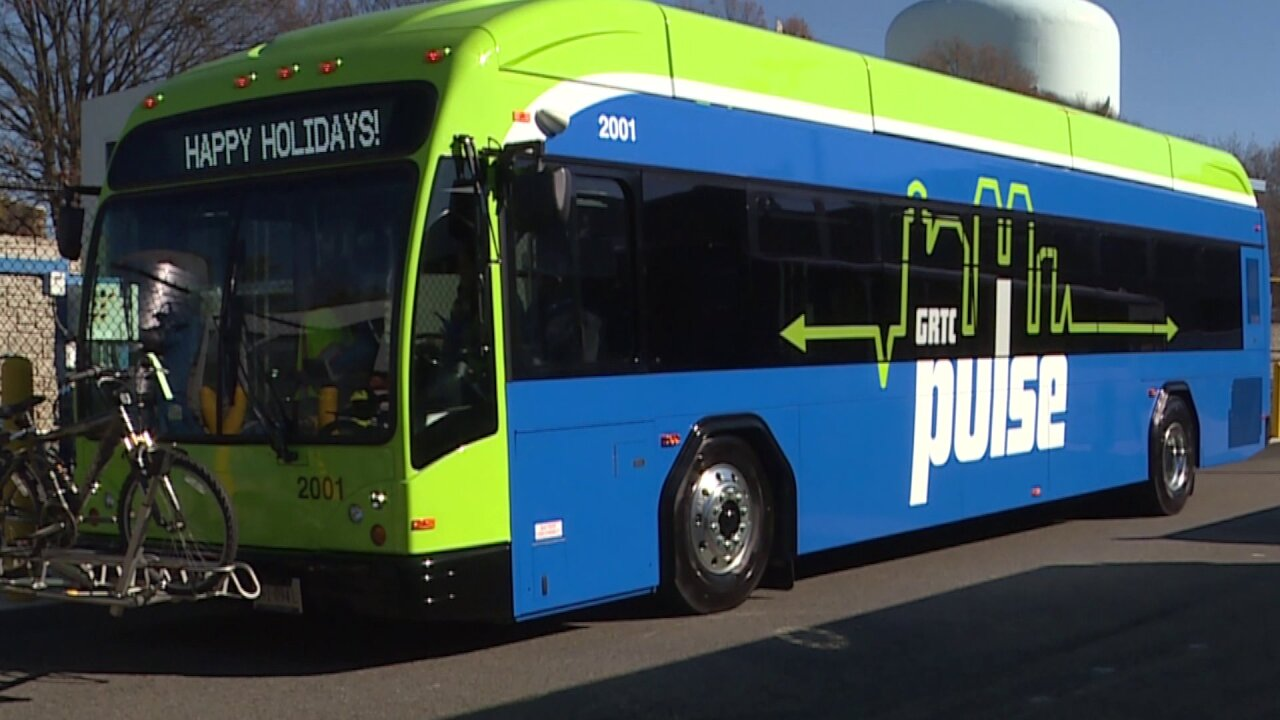 Passengers excited about new GRTC Pulse buses