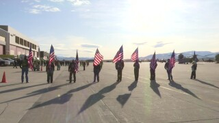 Ceremony held for Montana soldiers ahead of deployment