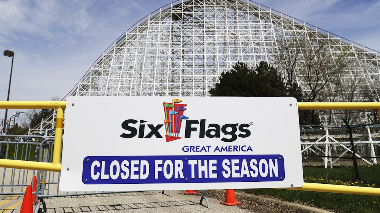 Six Flags mapping out reopening strategy after being closed due to coronavirus pandemic