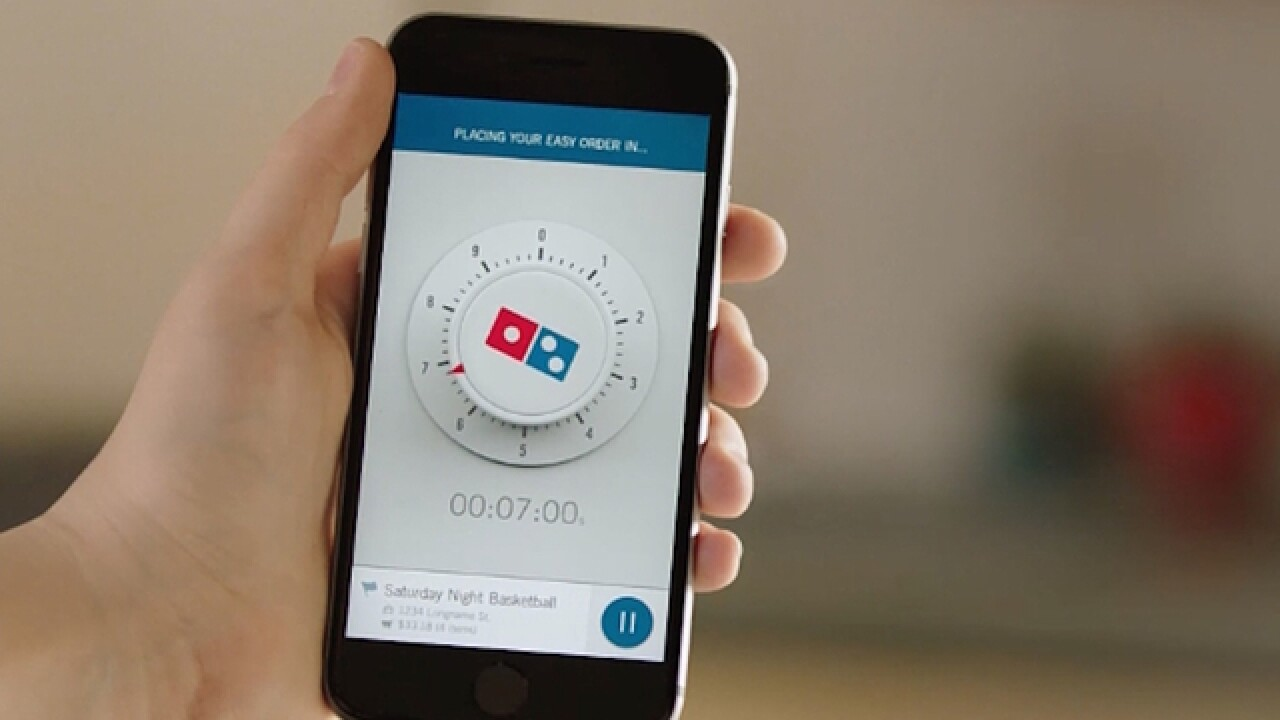 Domino's unleashes 'zero-click' pizza ordering