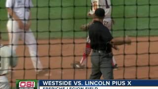 Westside wins opener at state legion baseball tournament