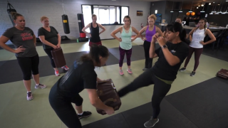 Social workers learn Krav Maga to stay safe in what can be a violent job
