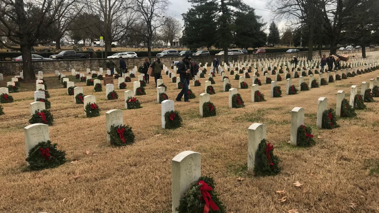 Veteran honors others