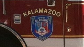 Kalamazoo Department of Public Safety responds to house fire