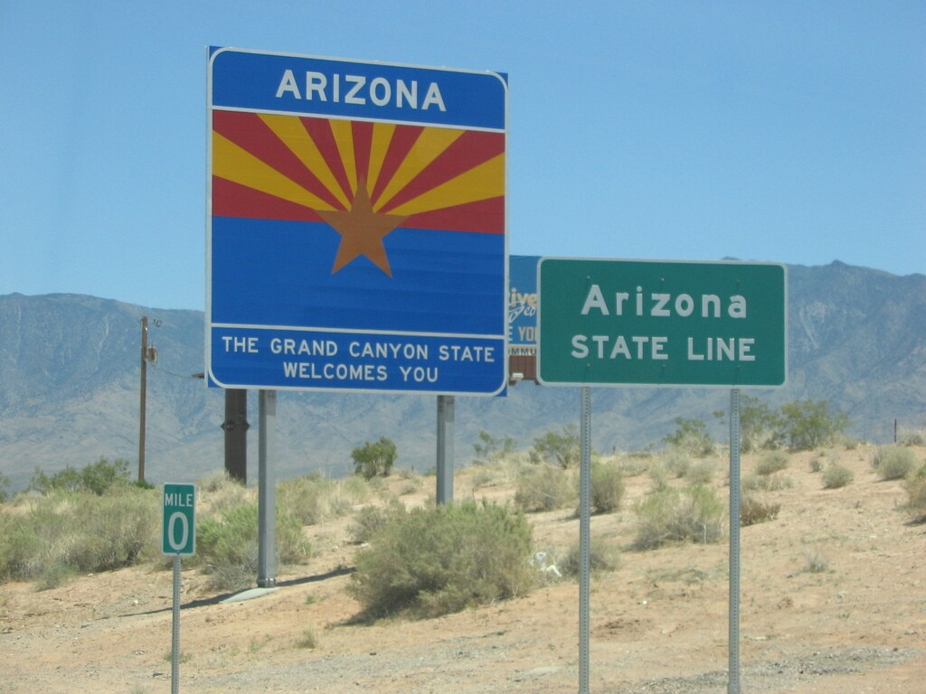 New 'Welcome to Arizona' signs highlight state's natural beauty