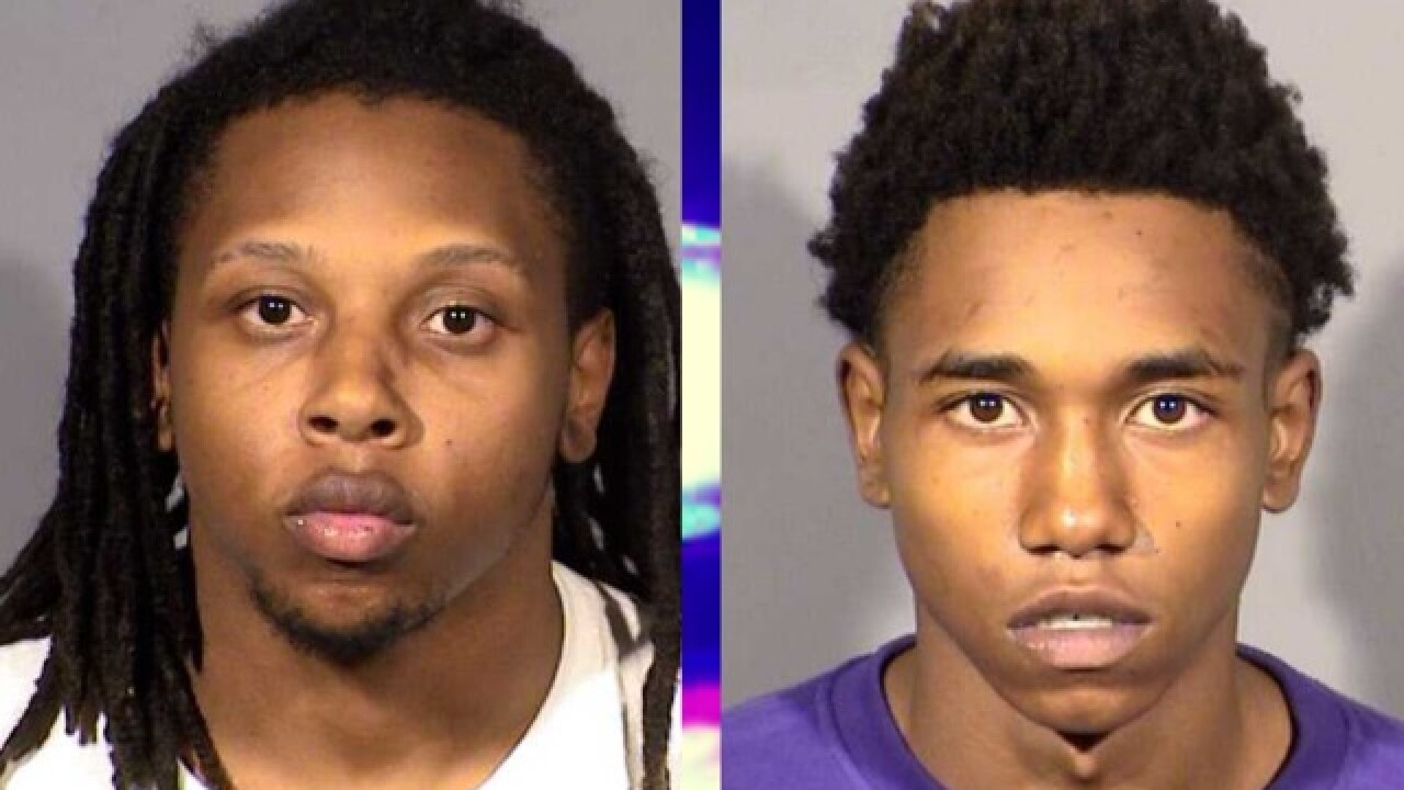 2 more suspects arrested in NLV shooting